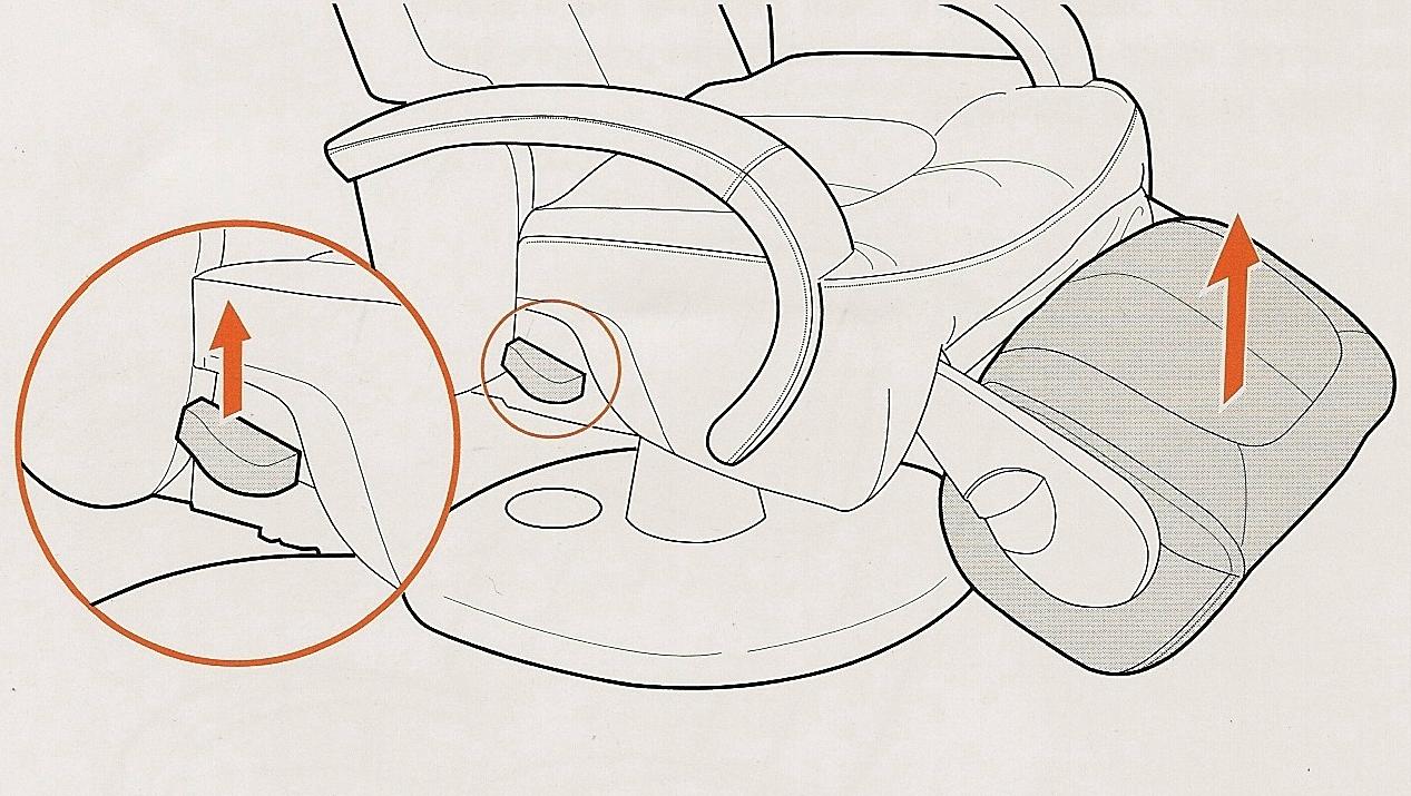 Поворотная подставка для ног массажного кресла Human Touch ht 270