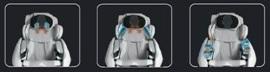 массажное кресло PROFIMED 3G Количество комбинаций зависит только от ваших потребностей