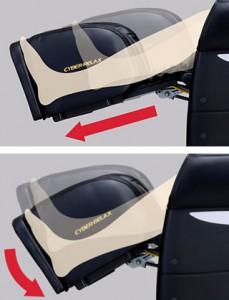 растяжка и массаж аэроподушками Fujiiryoki EC-2700