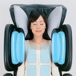 воздушный массаж плеч в массажном кресле fujiiryoki ec-3000