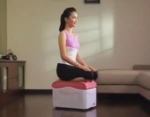 тренажер-массажер e-fit7 упражнение для талии