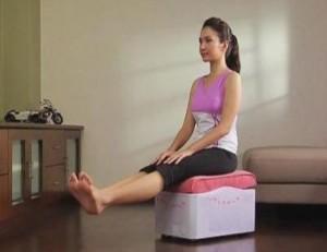 массажер тренажер e-fit7 упражнение для спины и голеней