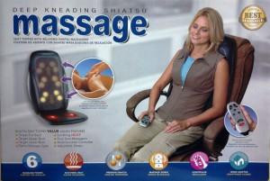цветная коробка массажной накидки e-medics 3D