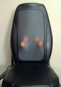 Массажная накидка e-Medics3D с подогревом и подсветкой роликов