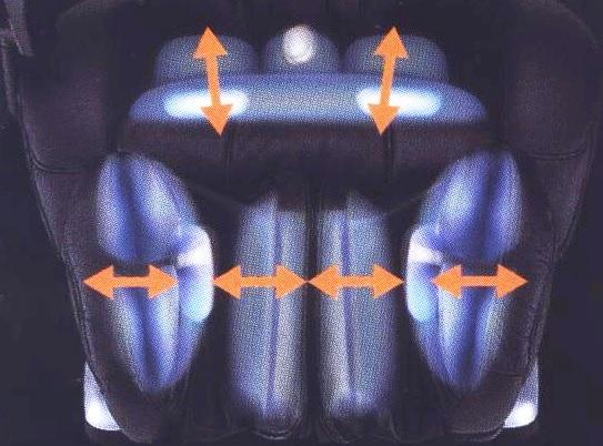Прессоассаж ног в массажном кресле i care эллотен